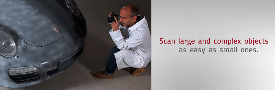 Scan large and complex objects as easy as small ones
